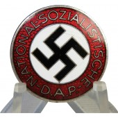 NSDAP memebr badge, National Socialist Labor Party, M1/92 RZM.