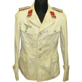 Summer  tunic for Luftwaffe FLAK.