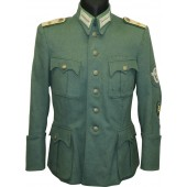 Tunic for Oberleutnant in Gebirgsjäger Regiment 18.