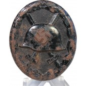 1939 Black steel wound badge
