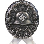 1st type black Wound badge 1939