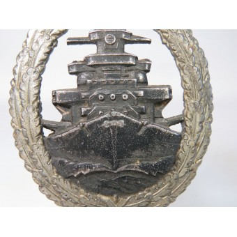 Kriegsmarine High Seas Fleet Badge by Schwerin. Espenlaub militaria