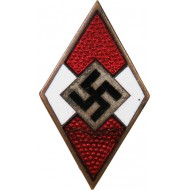 M 1/90 RZM HJ member badge, made by Apreck & Vrage-Leipzig