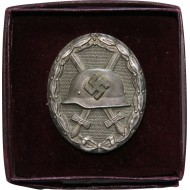Silver wound badge 1939 in the box of issue
