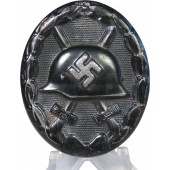 Unmarked Black wound badge 1939
