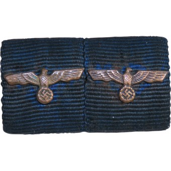 Wehrmacht long service medals ribbon bar for 25 years. Espenlaub militaria
