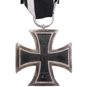 Iron cross 2nd class 1914 with an unknown manufacturer's mark on the ring
