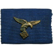 Ribbon bar for the medal of 12 years service in Luftwaffe