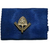 Ribbon bar for the medal for the service in the RAD