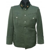 Officer's tunic - Feldbluse, Wehrmacht. Without insignia