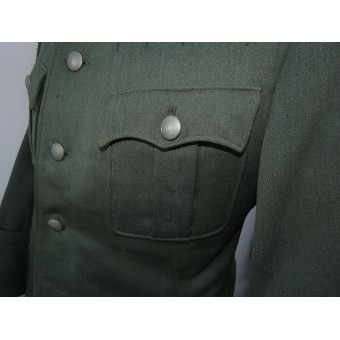 Officers tunic - Feldbluse, Wehrmacht. Without insignia. Espenlaub militaria