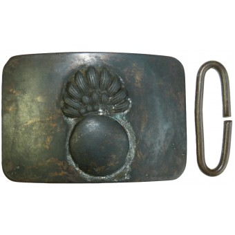 Brass Buckle for the grenadiers of the Russian Imperial Army, model 1894. Espenlaub militaria