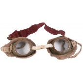 Imperial Russian Protective goggles for the wet face gasmask of the Chemical Committee at GAU