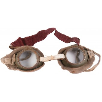 Imperial Russian Protective goggles for the wet face gasmask of the Chemical Committee at GAU. Espenlaub militaria