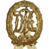 DRA Sports Badge in Gold 1st class.
