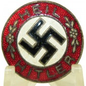 "Early NSDAP ""Heil Hitler"" badge. Ges.Gesch"