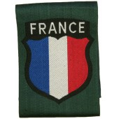 French volunteers in Wehrmacht sleeve patch