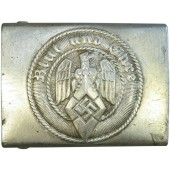 Hitler Youth (Hitlerjugend) aluminum buckle. RZM M 4/38