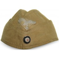 Luftwaffe tropical side cap, made in Danmark,  56 1/2. Dated 1941.