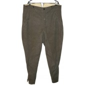 М36 Wehrmacht or SS breeches. Stone gray