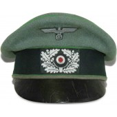 Alter Art-style Wehrmacht mountain troops visor hat, Gebirgsjäger.