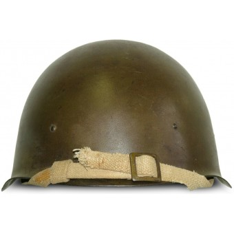 Steel helmet SSh 40 (Russian: СШ-40), manufactured by LMZ, 1944. Espenlaub militaria