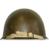 Steel helmet SSh 40 (Russian: СШ-40), manufactured by LMZ, 1944