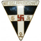 National Socialist Women's League (Women's NSDAP organization) membership badge