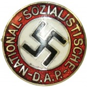 NSDAP Party Badge,  19 mm miniature,  GES.GESCH