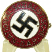NSDAP Party Badge with №25 RZM marking