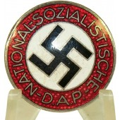 NSDAP Party Badge with M1/62 marking - Gustav Hähl