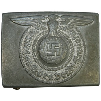 SS buckle for enlisted men 822/42. Zinc alloy. Espenlaub militaria