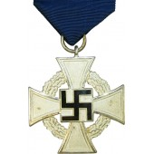 The Civil Service Faithful Service Medal, 2nd class, for 25 years of service