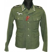 Wehrmacht M40 62nd Infantry Regiment NCO's tunic.