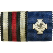 WW1 Honor Cross and 25 Years of Service medal  ribbon bar