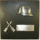 WW2 3rd Reich commemorative wall plaquette