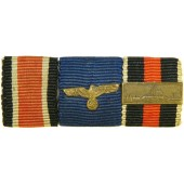 WW2 3rd Reich Wehrmacht Soldier or NCO ribbon bar