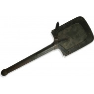 German entrenching tool with a leather cover marked: Lüttringhausen 1943