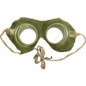Russian Imperial Army. Goggles for the wet gas mask of the Chemical Committee at GAM