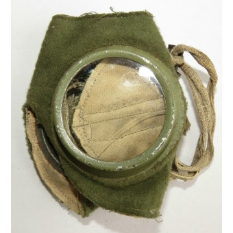 Russian Imperial Army. Goggles for the wet gas mask of the Chemical Committee at GAM. Espenlaub militaria