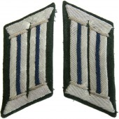 Wehrmacht Medical Service Collar tabs  in the officer rank.