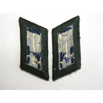 Wehrmacht Medical Service Collar tabs  in the officer rank.. Espenlaub militaria