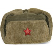 Red Army M1940 winter hat Ushanka