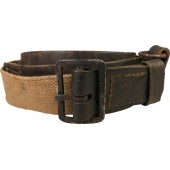 Red Army Semi-surrogate canvas belt M1941. Rare variant.