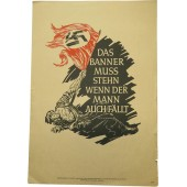 """""""The banner should stand even if the man fell"""".  Albert Leo Schlageter"""
