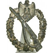 Infantry Assault Badge  - in silver.
