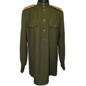Soviet M 43 officers gimnasterka for Major of supply/comissariat service.