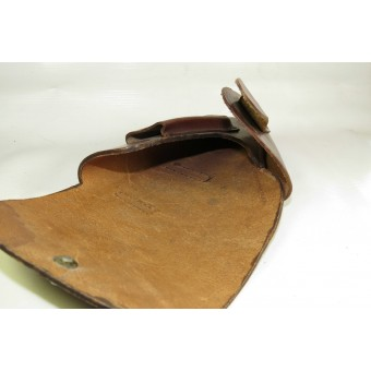 Walther PPK pistol, brown leather holster - mint. Espenlaub militaria