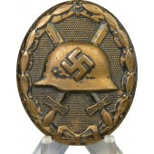 3rd Reich wound badge in black