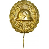3rd Reich wound badge in gold
